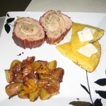 Stuffed Pork Tenderloin Presentation