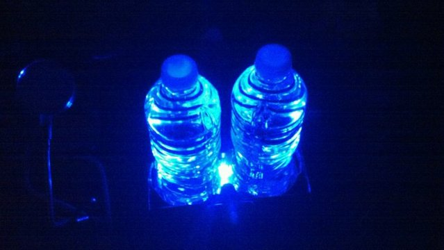 Blue Ambient Lighting Ambient Lighting Cup Holder