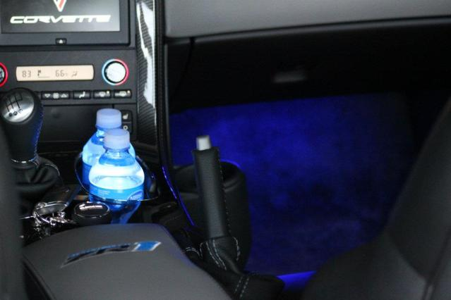 Blue Ambient Lighting Ambient Footwell Lights c6