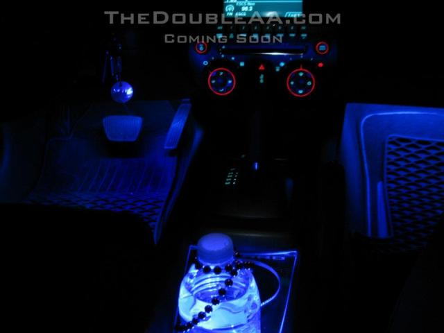 Blue Ambient Lighting Ambient Footwell Lights